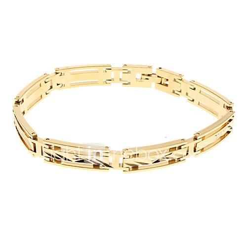 У нас Вы можете купить Мужская Золотой браслет Матирование 86 по лучшей цене с доставкой курьером или бесплатно