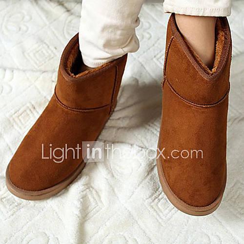 Unisex Isolierte Camel Winter Short Boots