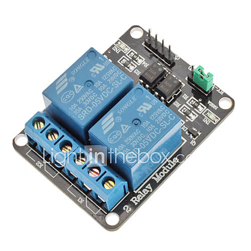 2 Channel Electric Relay Module ...