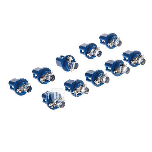 B8.5D 1-LED 10-20LM Blue Light