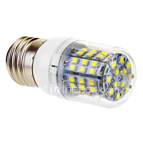 3W E26/E27 LED Corn Lights T 60 SMD 3528 360 lm Cool White AC 220-240 V