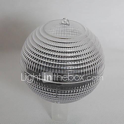 White Light 1-LED galleggiante Luce solare