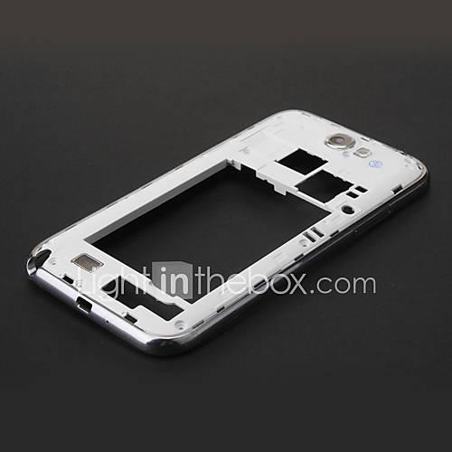 Weiß mittleren Feld-Gehäuse-Reparatur für Samsung Galaxy Note N7100 2 II