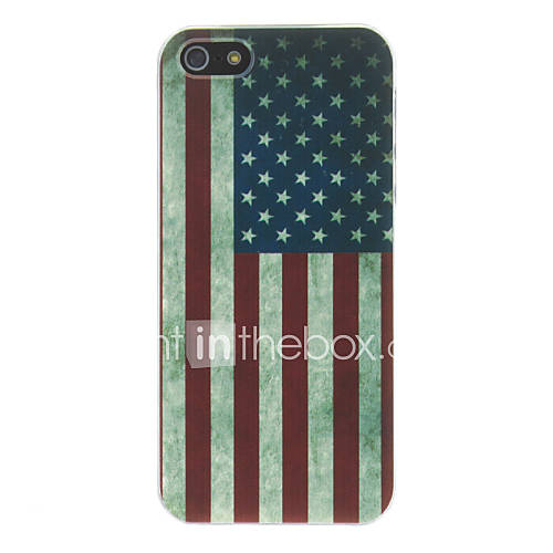 Case For iPhone 5 Apple iPhone 5 Case Pattern Back Cover Flag Hard PC for iPhone SE/5s iPhone 5