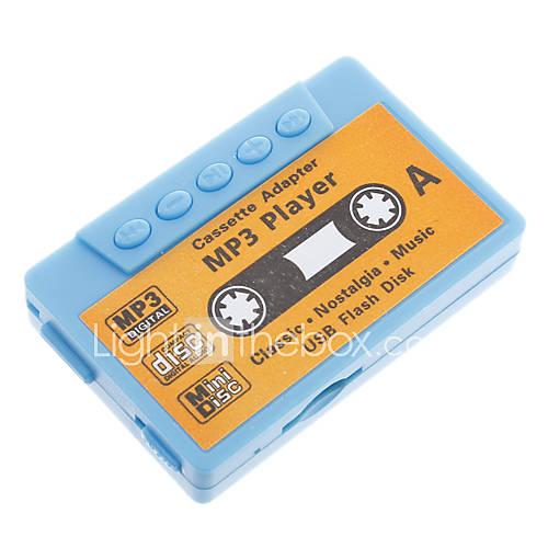 TF Card Reader MP3-Player Tape-Form Blau
