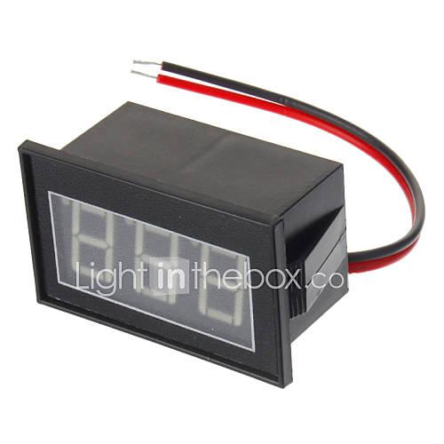 Water Resistant 0.56 ``3-Digit LED