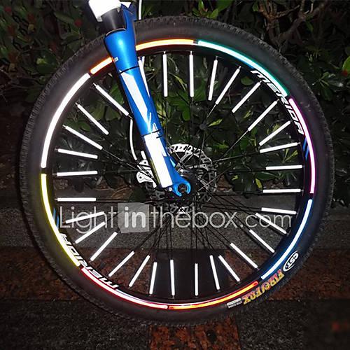 12 Stück MTB Mountain Bike Spoke Reflexstreifen