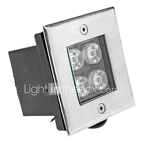 8W 4xHigh Leistung 400LM 6000K Cool White Light LED U-Einbauleuchte (12V)