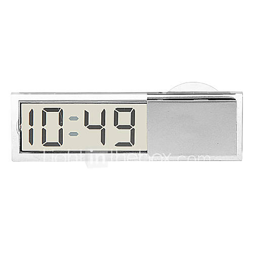 In-car Suction Cup Digital Clock