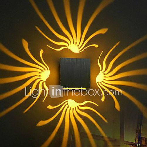 ac-85-265-3w-geintegreerde-led-hedendaags-galvanisch-verzilveren-kenmerk-for-led-lamp-inbegrepensfeerverlichting-muurlampen-muur-licht