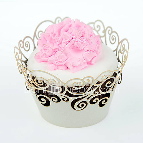 12 Eco-Friendly For Cake / For Cupcake Other Cupcake Wrapper