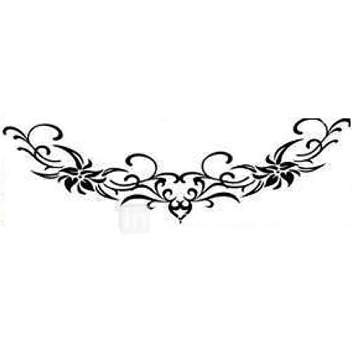 5 Stück Blumen-Wasserdicht Tattoo (4,7 cm  14,5 cm)