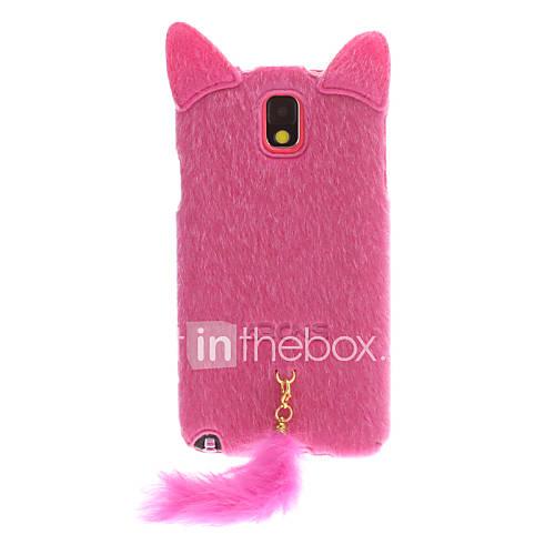 Hairy Kitty Muster Kunststoff zurück Fall für Samsung Galaxy N9000 Hinweis3