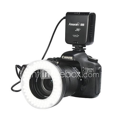 USD  52,95 - Aputure Amaran 95 CRI  Halo AHL-HC100 LED-Makro-Ringblitzlicht für Canon F951