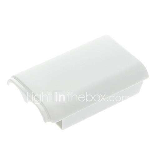 Cubierta del caso 1pcs Batería Shell Volver para XBOX 360 Wireless Controller Gamepad