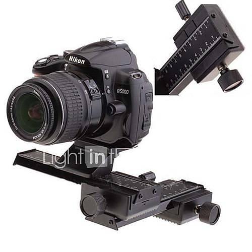 4-Wege-Macro Focusing Schienen Slider-Set für SLR-Kamera
