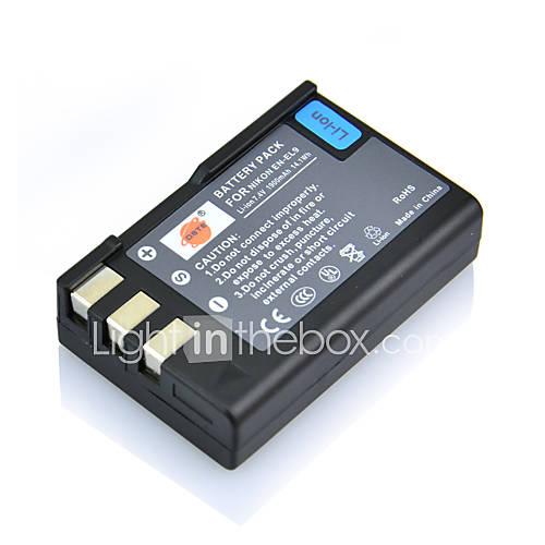 DSTE 7.4v 1900mah batteria EN-EL9