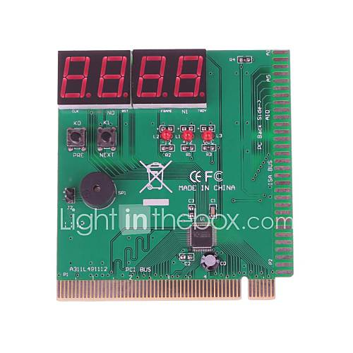 ZD03 4-stellige Anzeige Motherboard Fehlerbehebung Karte PCI / PCI-e-Karte Computer Testen