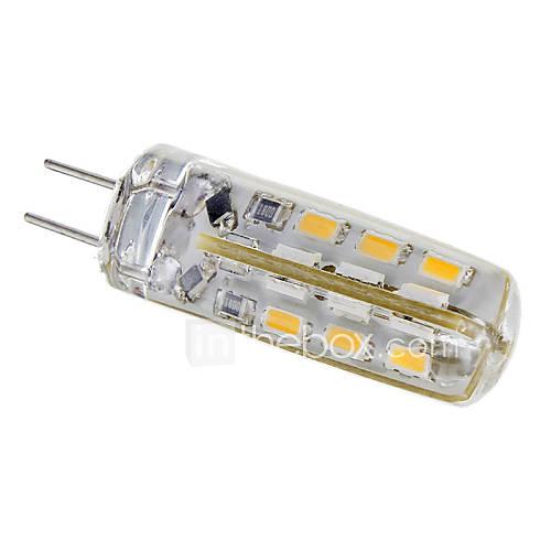 G4 1,5 W 24x3014SMD 95LM 3000K War White Light Spot-Lampe (12V)