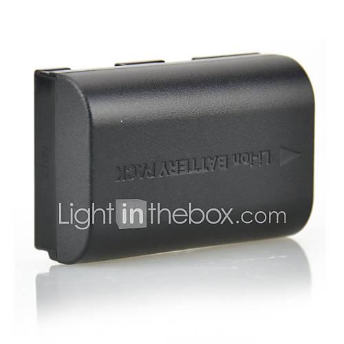 DSTE 7.4v 2600mAh LP-E6 batteria