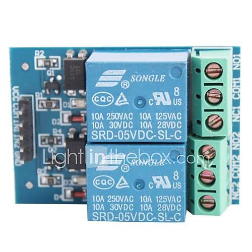 EL817 2-channel 5V 10A Relay ...