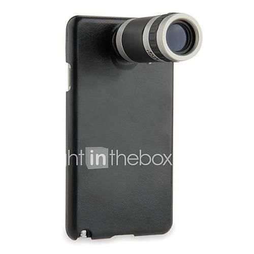 8X-Teleskop-Kamera-Objektiv-Schraubverbinder mit Fall-und Bügel für Samsung Galaxy Note N9000 3