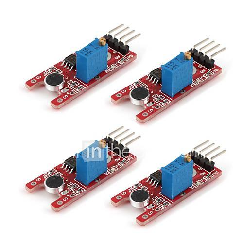 glmd01 diy empfindlichen Mikrofon-Sensormodul für (für die Arduino) (4 Stück)