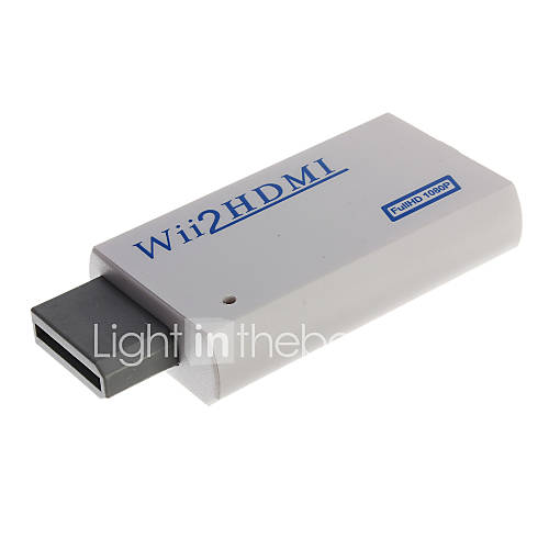 Convertidor de HDMI para Wii Descuento en Miniinthebox