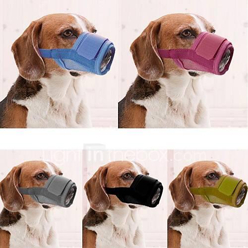 Nylon cane museruola regolabile per gli