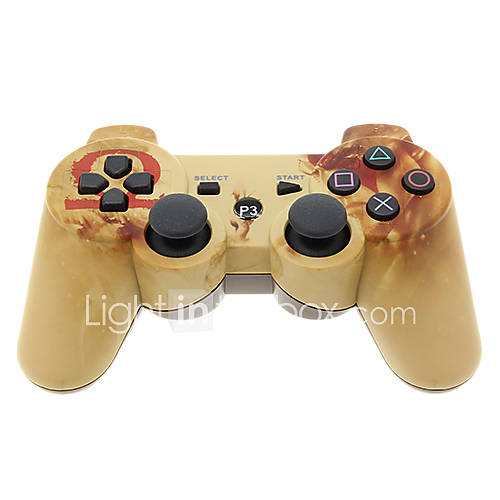 Controller Bluetooth Dual Shock Six Axis inalámbrico para PS3 Descuento en Miniinthebox