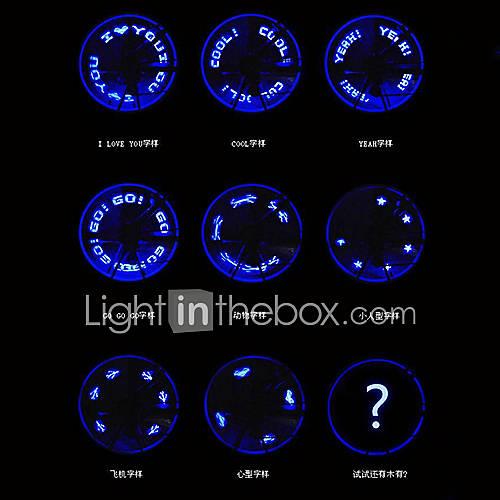 MOON 7 LED-Fahrrad-Rad-Speiche-Ventil-Licht