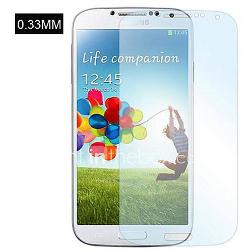 Fabitoo 0.3mm 9H Hardness 2.5D Arc Anti Blu ray Tempered Glass Screen Protector for Samsung S4 i9500
