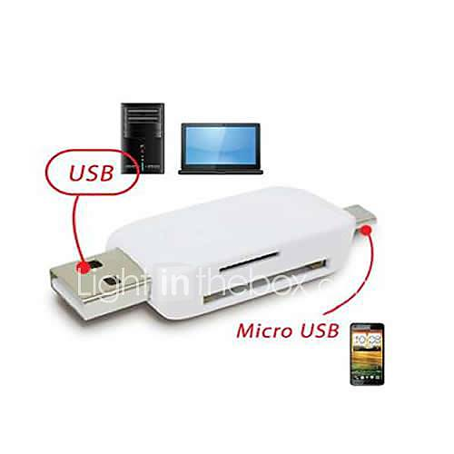 OTG USB Micro SD / TF