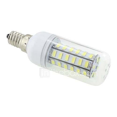 7W E14 LED Corn Lights T 48 SMD 5730 600 lm Cool White AC 220-240 V