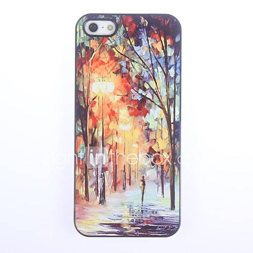 Case For iPhone 5 Apple iPhone 5 Case Pattern Back Cover Scenery Hard PC for iPhone SE/5s iPhone 5