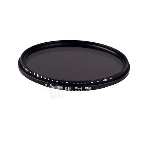 77mm Schlank Fader Variable ND Filter Einstellbar ND2 bis ND400 Neutral Density