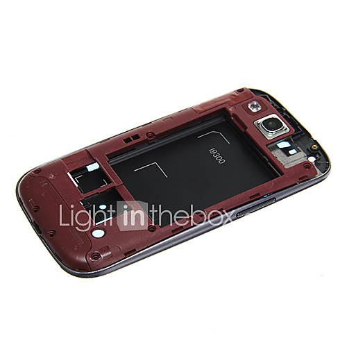 Ersatz Handy-Rahmen Plate Special-Design für Samsung Galaxy S3 I9300