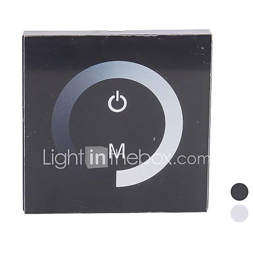 TM06 LED Touch Panel Dimmer für einfarbige LED-Streifen (DC12-24V, 8A 1-Kanal-Ausgang)