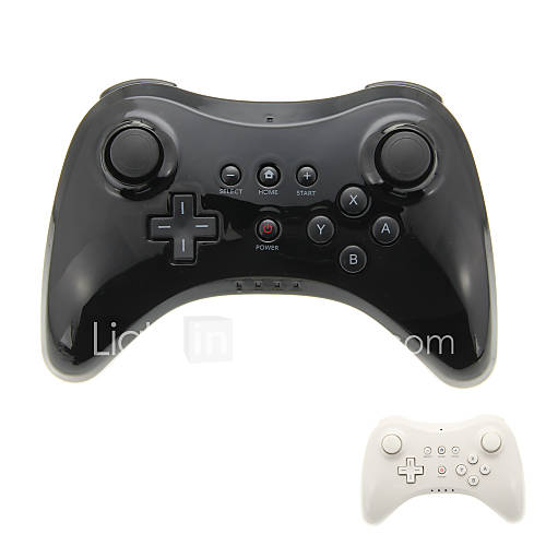 Mando Bluetooth Wireless para Nintendo Wii U Pro Descuento en Miniinthebox