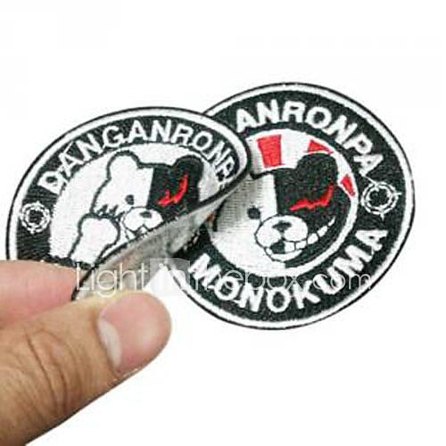 Dangan Ronpa Monokuma No.AB2 Cosplay Clothing Patch/Patch