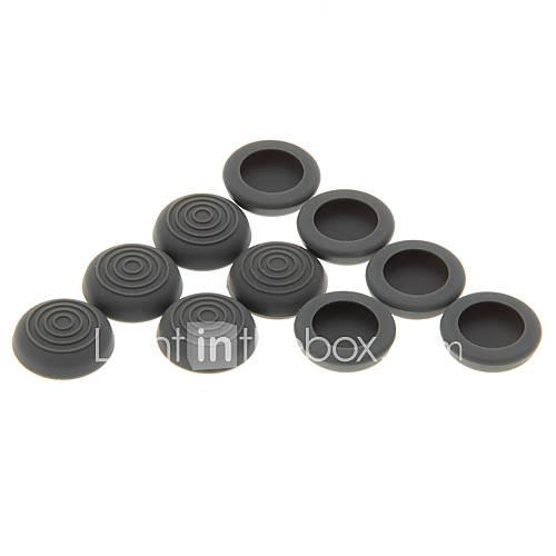 10pcs antideslizante de silicona Cap analógico Cubiertas para Controller ONE/XBOX360 PS4/PS3/XBOX Descuento en Miniinthebox
