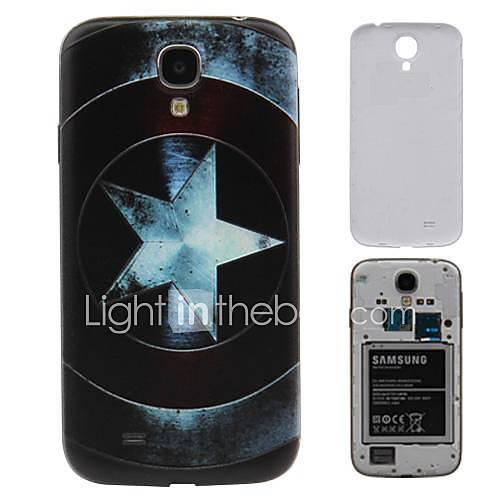 Pentangle Printing PC-Fest Akku Rückseite Gehäuse für Samsung Galaxy i9500 S4