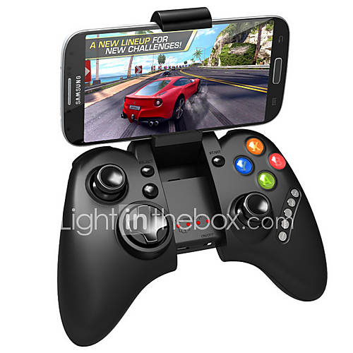 [NewYearSale]IPEGA PG-9021 Classic Bluetooth V3.0 Gamepad for iPhone/iPod/iPad/Samsung/HTC/MOTOMore - Black