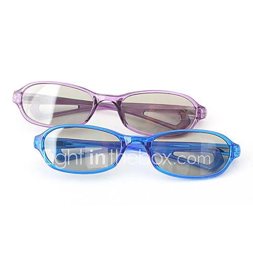 MK Polarized Light Patterned Retarder Passive Childern's 3D Glasses for RealD Imax Cinema (4Pcs)