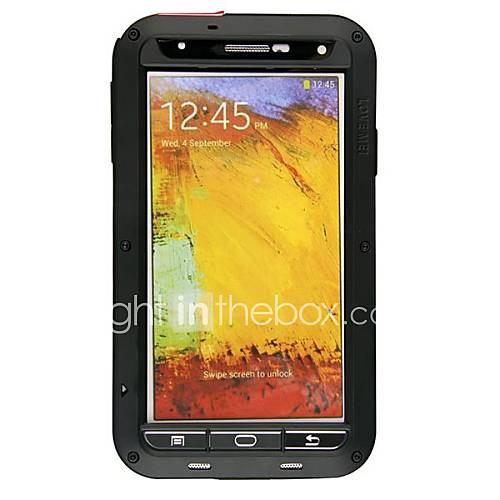 Case For Samsung Galaxy Samsung Galaxy Note Dustproof Shockproof Waterproof Full Body Cases Armor Metal for Note 3