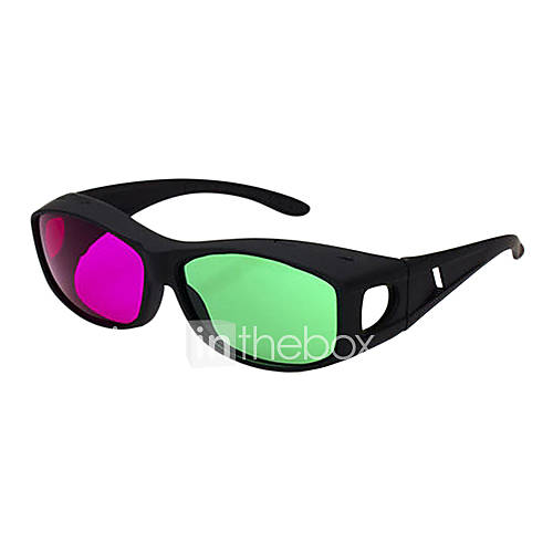 Reedoon Red Green Myopia 3D Glasses for 3D Movie