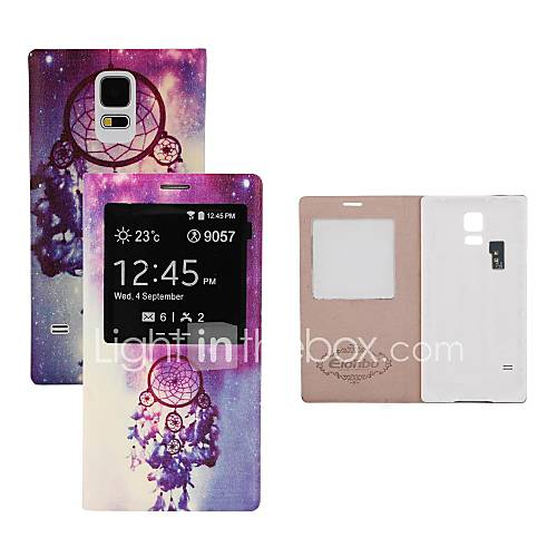 elonbo Traumfänger-Akku Rückseite Flip Ganzkörper-Fall mit Auto-Sleep-Funktion für Samsung Galaxy i9600 s5