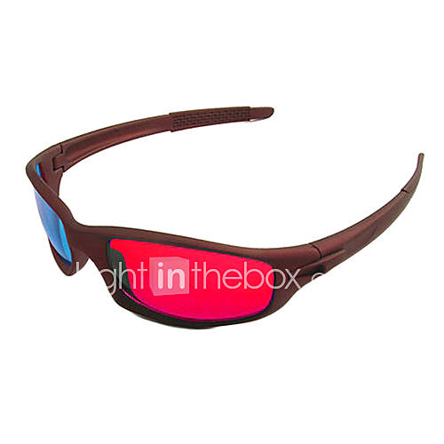 Reedoon Red Blue Children's 3D Glasses (Red)