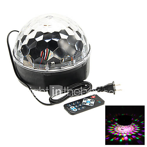 l-t03 sechs Farb-LED-Kristall-Licht und Magie