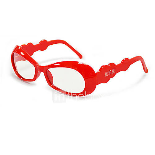 Le-Vision Children's Polarized Light Patterned Retarder 3D Glasses for Cinema and 3D TV